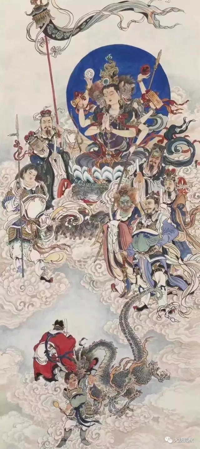 大唐遗教:战威金刚-摩利支天法(汉传密教本尊法)
